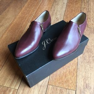 J Crew leather loafers, Size 7